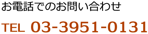 03-3951-0131